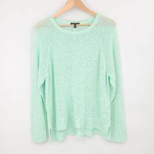 Eileen Fisher Organic Linen Summer Sweater
